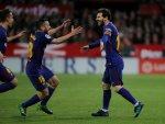 Barcelona'yı yenilgiden Messi kurtardı