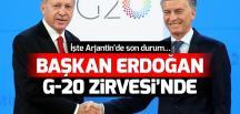 Başkan Erdoğan Arjantin'de DÜNYA