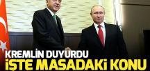 Başkan Erdoğan ile Putin, Suriye konusunu görüşecek