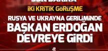 Erdoğan, Putin ve Poroşenko ile görüştü GÜNDEM