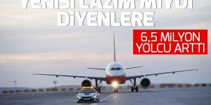 İstanbul'da yolcu sayısı arttı