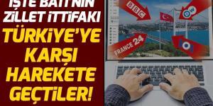 Batı'nın dört büyük medya kuruluşu Türkiye'ye karşı YouTube'dan yayına başladı!