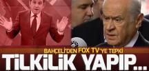 MHP Genel Başkanı Bahçeli'den FOX TV'ye tepki: Tilkilik yapıp ortalığı karıştırıyorsunuz