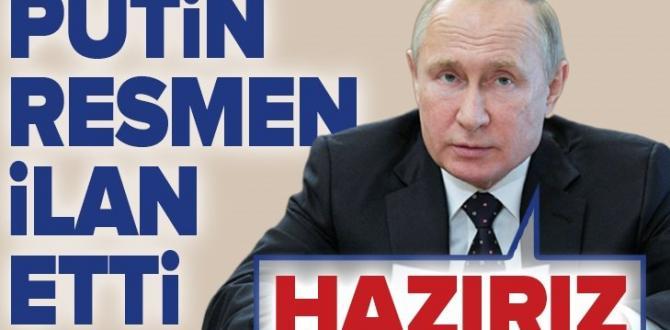 """Vladimir Putin'den Avrupa Birliği ile """"diyalog"""" açıklaması."""