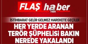 Aranan terör şüphelisi HDP binasında yakalandı