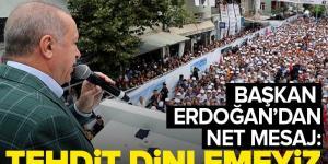 Son dakika: Başkan Erdoğan'dan Doğu Akdeniz mesajı