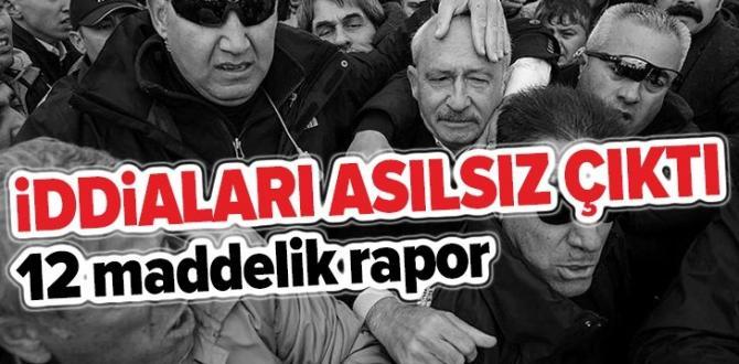 """İçişleri Bakanlığından CHP'nin """"Çubuk iddiaları""""na raporla yalanlama ."""
