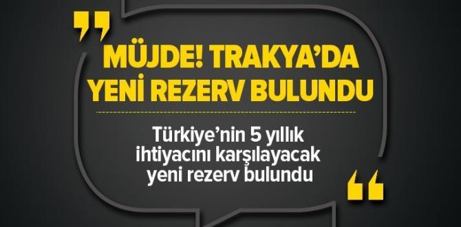 Türkiye'nin 5 yıllık ihtiyacını karşılayacak doğalgaz rezervi Tekirdağ'da bulundu  Video .