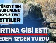 """Türkiye'nin gururu """"Bora-12"""" ile hedefi 12'den vuruyor! Katar polisi de test etti."""