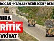 Son dakika: Türkiye'den İdlib'deki kontrol noktalarına yoğun sevkiyat