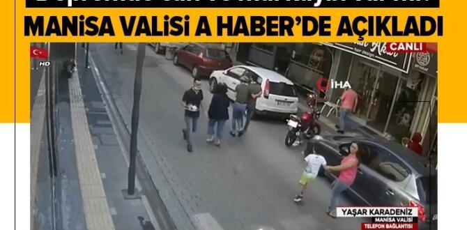 Manisa'da 5.5 büyüklüğünde deprem! Vali Yaşar Karadeniz'den A Haber'e özel açıklamalar.