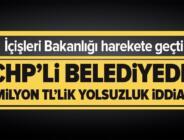 Son dakika: CHP'li Kumluca Belesiyesi'nde 2 milyon TL'lik yolsuzluk iddiası! İçişleri Bakanlığı harekete geçti