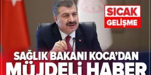 Son dakika: Sağlık Bakanı Fahrettin Koca'dan müjde! 3 bin sözleşmeli sağlık personeli alınacak.
