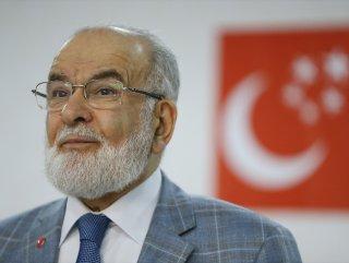 Abdullah Gül'ün adaylığı Temel Karamollaoğlu'na soruldu