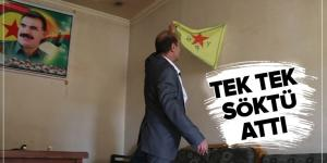 YPG/PKK'nın el koyup karargah yaptığı evine, Barış Pınarı'yla kavuştu