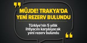 Türkiye'nin 5 yıllık ihtiyacını karşılayacak doğalgaz rezervi Tekirdağ'da bulundu |Video .