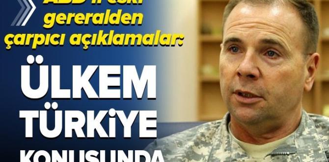 ABD'li eski General Ben Hodges'ten çarpıcı açıklamalar: Ülkem Türkiye konusunda…