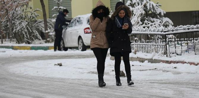 Meteoroloji'den son dakika hava durumu açıklaması! Donacağız! Yoğun kar yağışı uyarısı   4 Aralık 2019 hava durumu.